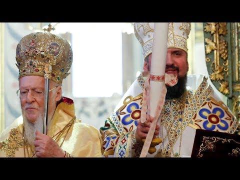 LIVE   Різдво. Святкова літургія в Софії Київській. Представлення томоса