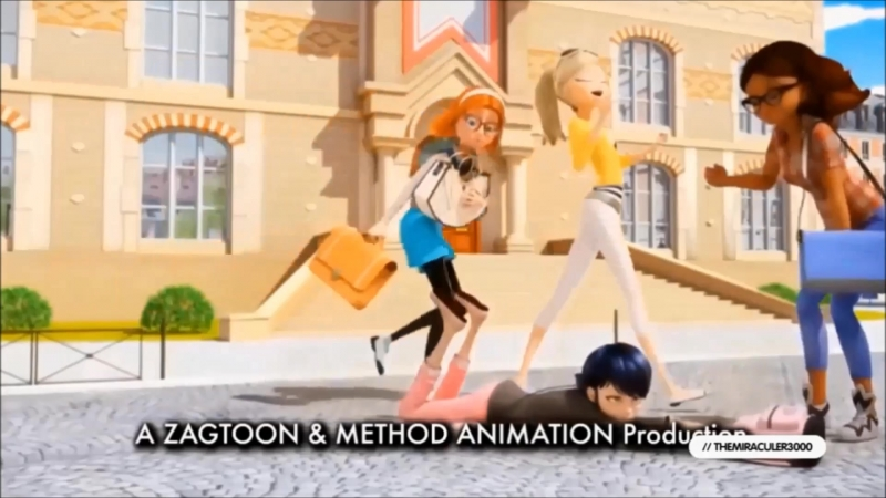 Opening and ending Miraculous Ladybug to the music of winx club with different languages season 1 and season 2 ( up, 2 t