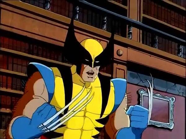 Люди Икс (Росомаха) (X Men 1992) 3 часть