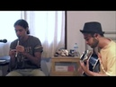 Crazy reels on tin whistle and guitar