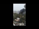 Пожар около онкологического диспансера
