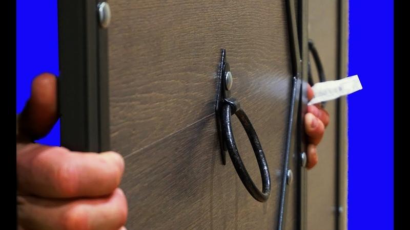 Автобусная технология в шкафу - Самодельные двери в шкаф