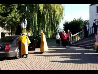 Приезд Владыки епископа Черняховского и Славского Николая в Полесск, в Храм Святого Тихона.