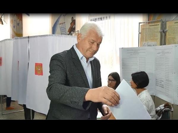 Глава г. Междуреченск голосует