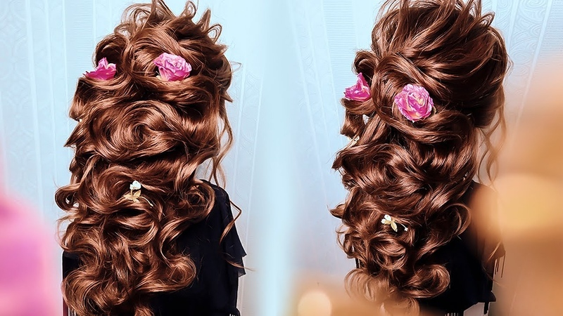 Обучение Прическам. ГРЕЧЕСКАЯ КОСА из Своих волос. Greek Bubble Braid » Freewka.com - Смотреть онлайн в хорощем качестве