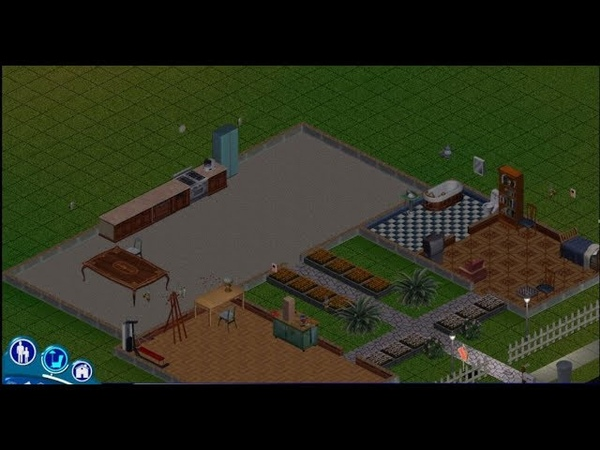 The Sims. Прохождение. 10 серия. Отделка гостиной комнаты