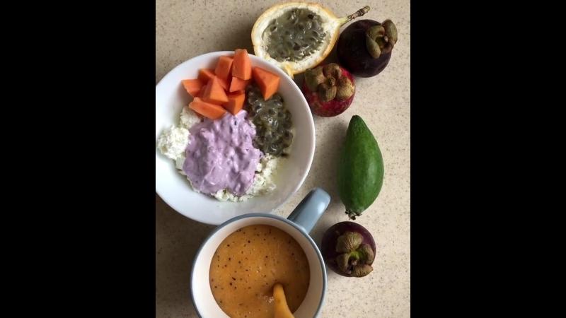 Завтрак очень важен 💪🏽Именно он даёт энергию на весь день )) Что сегодня кушали 👂🏻
