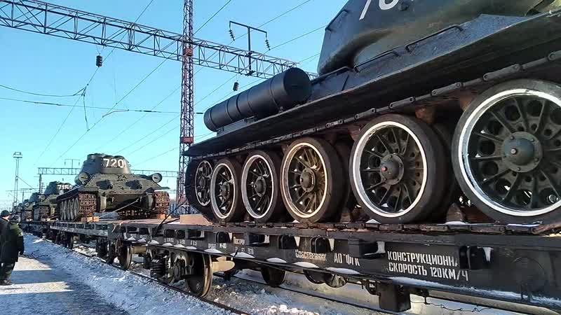САВВА ДМИТРИЙ - Встреча колонны легендарных Т-34 в Муроме!