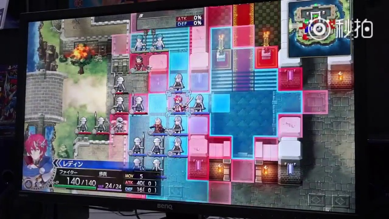 Langrisser III Remake gameplay