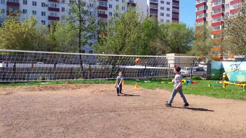 Физкультурная площадка, детсад №40, Уфа, 23 мая 2018