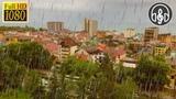 Сильный Дождь за Окном в Городе. 6 Часов Дождя Для Сна и Релакса