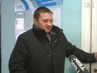 На жителя Козульки упал потолок в подъезде
