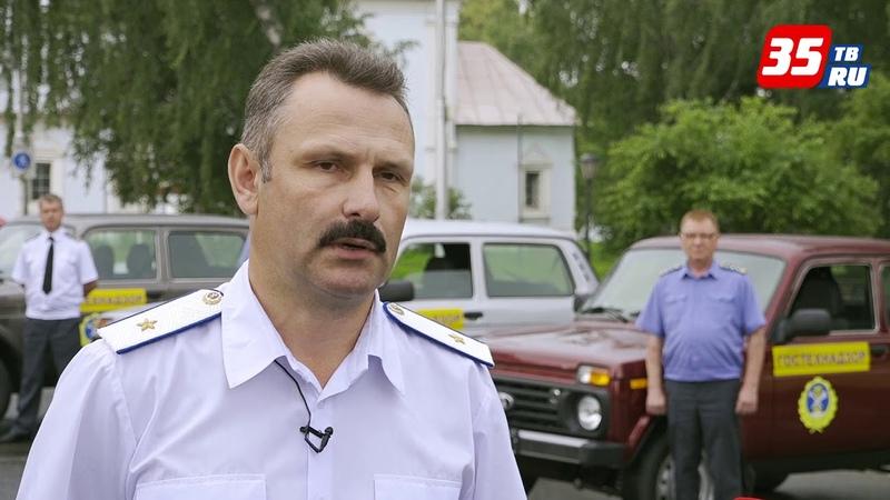 Новые автомобили для инспекторов гостехнадзора поступили в область