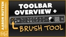 Overview of Toolbar the Brush Tool Corel Painter Course Sample