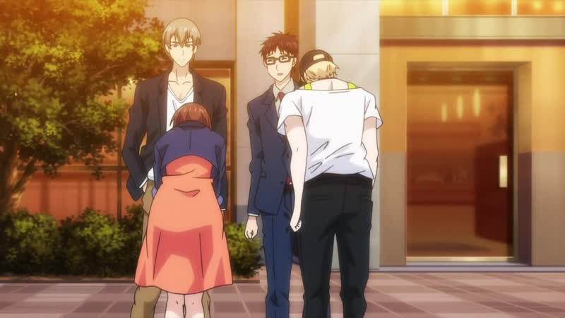 [Ohys-Raws] Shuudengo, Capsule Hotel de, Joushi ni Binetsu Tsutawaru Yoru. - 09 (MX 1280x720 x264 AAC)