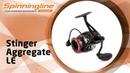 Безынерционная катушка Stinger Aggregate LE