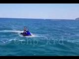 В Черном море взорвался гидроцикл! Пострадали люди!
