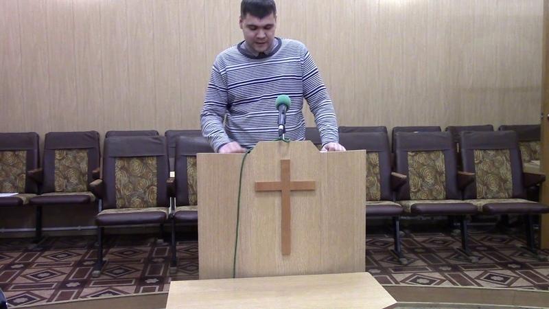 2016.11.25 Андрей Агафонов Очиститесь и освятитесь