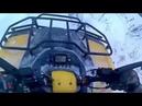 Покатушка на квадроцикле Stels600gt/застрял в поле/дрифт