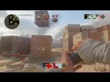 Sticky Grenade Head Shot. COD WWII