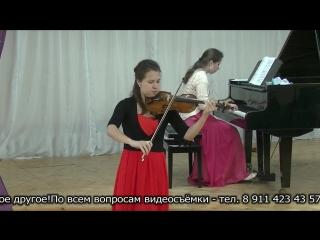 Татьяна Ерофеева (скрипка) и Анна Ерофеева (фортепиано).Кондопога 4 июня 2018.6