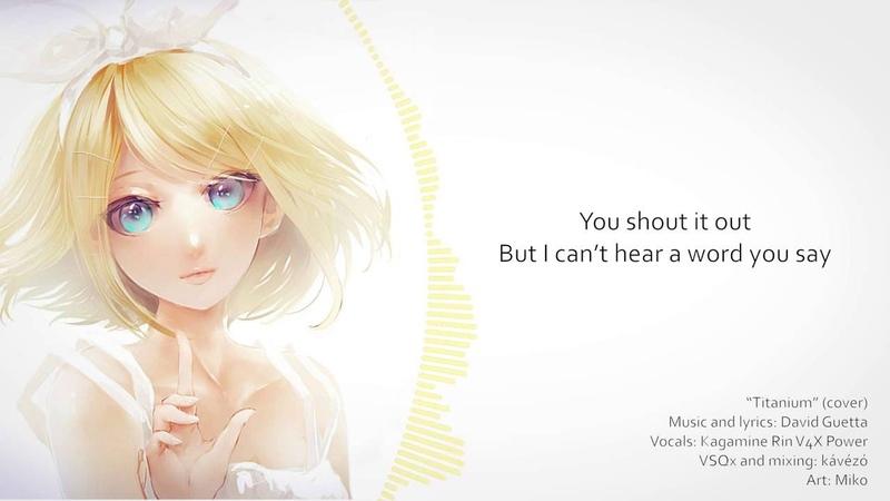 Vocaloid Cover Titanium Kagamine Rin V4X