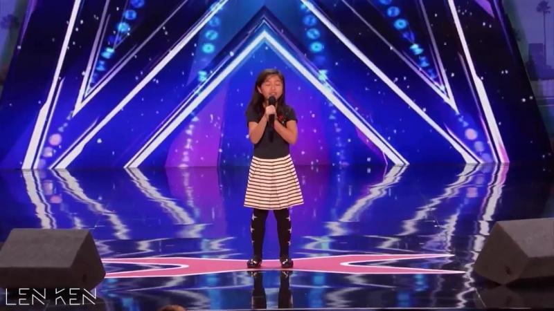 Celine Tam ALL Performances Americas Got Talent 2017