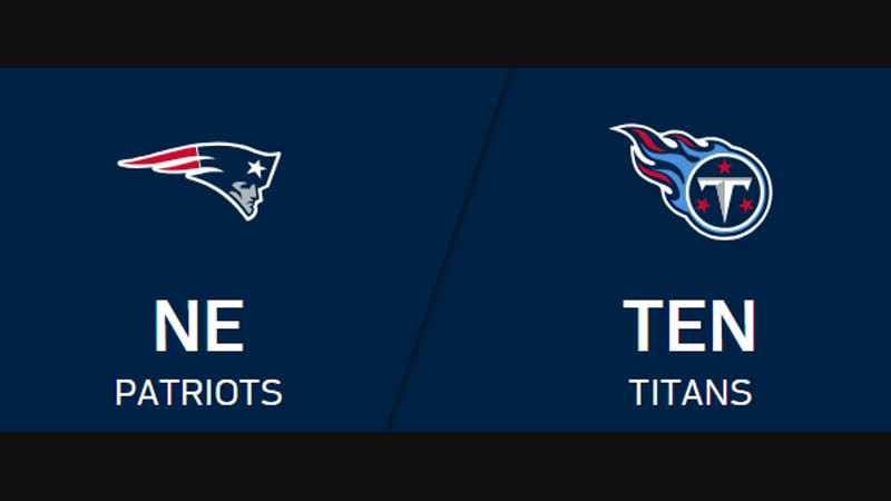NFL 2018-2019 / Week 10 / New England Patriots - Tennessee Titans / 2H / EN