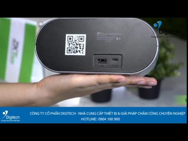 Digitech Media | Máy chấm công vân tay ZKteco D1