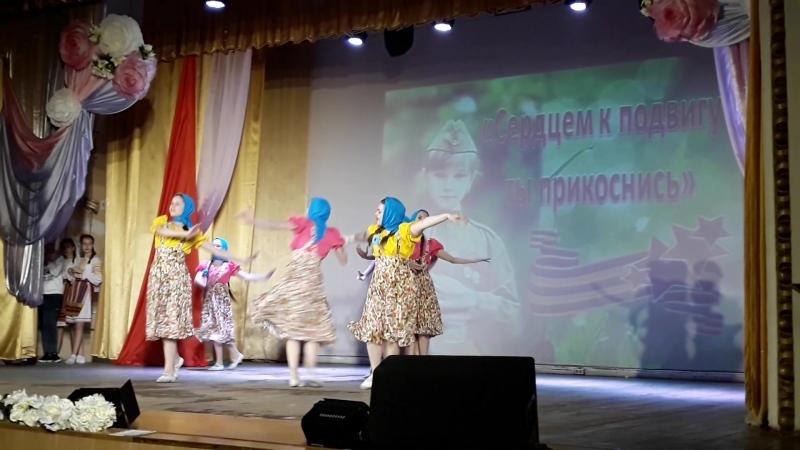 Хореографический коллектив Ветер перемен Танец Синий платочек