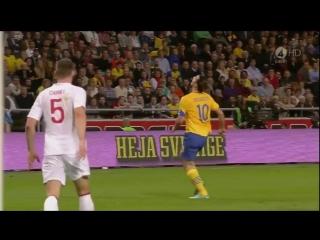 Ибрагимович забил лучший гол в истории футбола