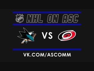 NHL   Sharks VS Hurricanes