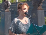 Дочь генерала Ерёменко Татьяна на 75 - летии приезда Сталина в Ржев