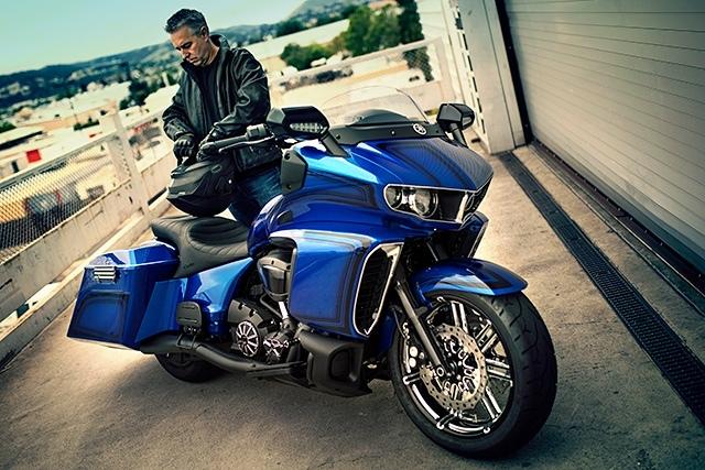 Кори Несс: бэггер Journey Further на базе Yamaha Star Eluder