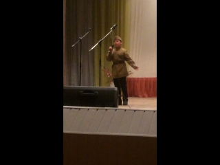 Егор на фестивале~конкурсе песен военных лет «Катюша»