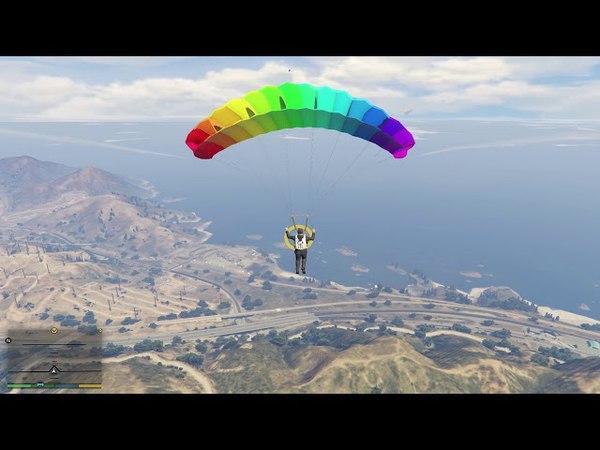 GTA V - Dammed If You Don't (Parachute Jump)