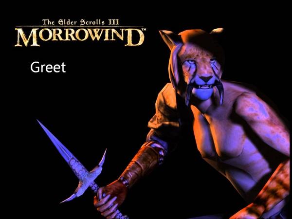 Morrowind Female Khajiit Responses