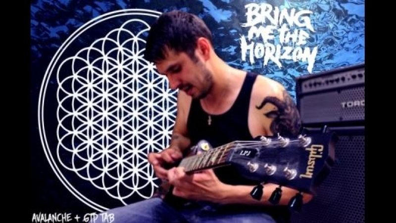Bring me the horizon - Avalanche (guitar cover TAB)