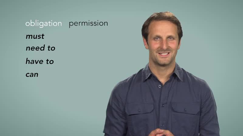 L2 6 5 Modal verbs for obligation and permission 1