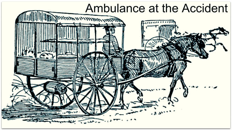 Ambulance at the Accident