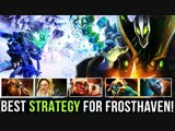 NEW FROSTHAVEN FROSTIVUS RECORD !! 39-48 FASTEST TIME TO BEAT FINAL BOSS - BEST STRATEGY Dota 2