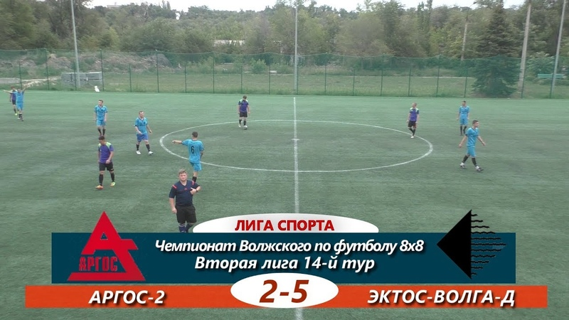Вторая лига.14-й тур. АРГОС-2-ЭКТОС-Волга-Д 2-5 ОБЗОР