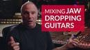 Mixing Distorted Guitars | High Gain Tips by Joe Barresi
