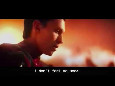 Mr stark, I don't feel so good. Spider-Man dies. 4K