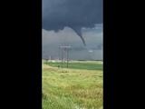 Tornado near Dodge, North Dakota   July 14, 2018