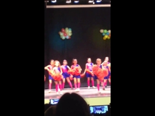 Отчётный Концерт школы - студии Багира Данс. 1 номер выступление Mix Dance. Только 1 - ая часть