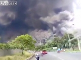 Извержение вулкана в Гватемале