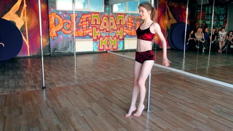 Pole PANK Dance studio/ Ученица Евгения /Pole dance Омск