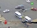 В Челябинске на перекрестке Братьев Кашириных и Чайковского в ДТП попали сразу 3 автомобиля