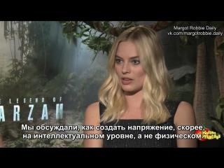Интервью для «Rotten Tomatoes» в рамках промоушена фильма «Тарзан. Легенда» #2 | 25.06.16 (русские субтитры)